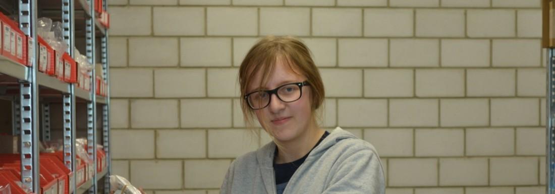 Stefanie Burri, 3. Lehrjahr
